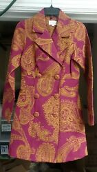 3 Sisters Jacket Xs/s Ella Womenand039s Dressy Trench Coat Usa Made 5071 3s977