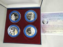 Mothers In The Bible Sarah Rebecca Rachelleah 4 Medals 40mm 4x20g Pure Silver