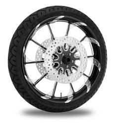 Xtreme Machine Launch Xquisite 21 Front Wheel Tire Rotor Package Harley 08-13