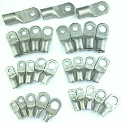 Battery Cable Ends Lugs Ring Terminals Connectors Tin Plated Pure Copper