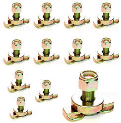 10x Etrack Fitting 8mm O Ring Van Truck Enclosed Cargo Down Strap Tie Down Tools