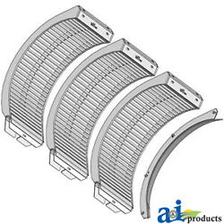 Compatible With John Deere Concaves Sts Round Bar V18027 9870sts, 9860sts, 9770