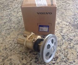 Volvo Penta Raw Water Sea Pump New 3857794 With 4.5 Pulley Read 3851982