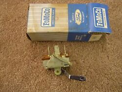 Nos Oem Ford 1964 Falcon + 1964 1/2 Mustang Heater Fan Switch 1964.5