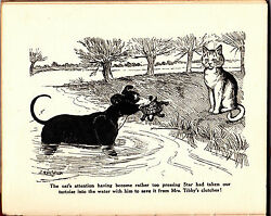 Louis Wain  Julia Lowndes Tracy - Terrier V.C. - 1st 1916 - War Horse Charity