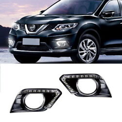Direct Fit Nissan Rogue Switchback 12-LED Daytime Running Lights w Turn Signal