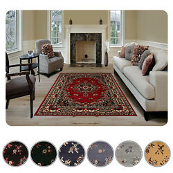 Large Traditional 9x12 Oriental Area Rug Persien Style Carpet -actual 9'2x12'5