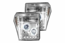 Recon Lighting Projector Headlights - Clear 11-15 Ford Superduty 264272cl