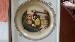 Set Of Hummel Goebel Anniversary Plates 1975 1980 And 1985 With Frames
