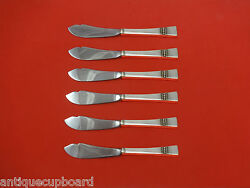 Diadem By Reed And Barton Sterling Silver Trout Knife Set 6pc Hhws Custom