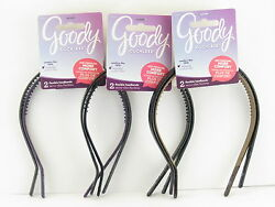 GOODY OUCHLESS FLEX PRESSURE FREE THIN HEAD BANDS  (02033)