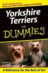 Yorkshire Terriers for Dummies by Tracy Barr; Peter F. Veling