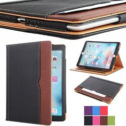 New Soft Leather Wallet Smart Case Cover Sleep Wake Stand for APPLE iPad $12.99