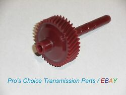 37 Tooth Red Speedometer Driven Gear---fits Gm Md8 700-r4 4l60 Transmissions