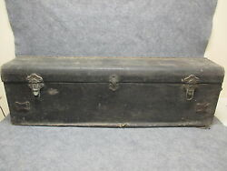 1920s Lasalle Or Cadillac Automobile Luggage Trunk Beals And Selkirk 25361