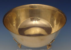 Palmette By And Co. Sterling Silver Fruit Bowl Modern 23238 0548