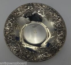 Repousse By Kirk Sterling Silver Bowl Large 10 Diameter 15x 0562