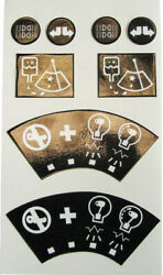 62225 Massey Ferguson Decal 200 Ignition Light And Indicator - Pack Of 1