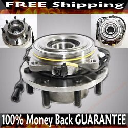 Front Wheel Hub Bearing Drw 4wd W/4 Wheel Abs Fit 05-09 Ford F250 Super Duty