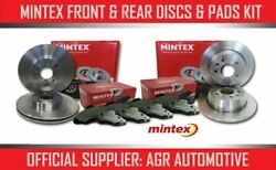 Mintex Front + Rear Discs And Pads For Peugeot 308 Sw 1.6 120 Bhp 2007-13