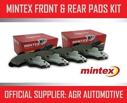 Mintex Front And Rear Brake Pads For Bmw 320 2.0 E90 150 Bhp 2005-10