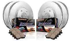 Power Stop Koe1919 Front/rear 1-click Replacement Brake Kit For Expedition/f-150