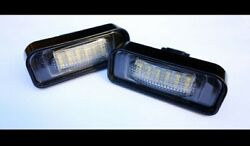 For Mercedes Benz S-class W220 Led Number Plate Lights Mb Amg Brabus Carlson