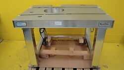 Microvision Mvt 2080 Workstation Wafer Inspection Station Table Tschurr Used