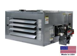 WASTE OIL HEATER Commercial - 200000 BTU - Includes Thru Wall Chimney Kit