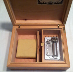 Reuge Musical Humidor Box With 50 Nt Mvt-smoke Gets In Your Eyes J.kern