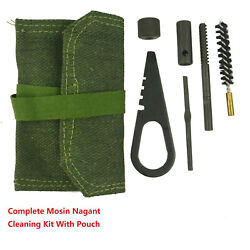 Db Tac Inc Mosin Nagant M44 Cleaning Kit With Pouch And Thread Covert Adapter