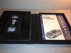 2000 General Motors Dual Stage Air Bag System Service Know How Vhs And Booklets