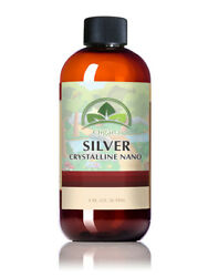 The Best Nano Colloidal Silver 8 Oz 30 Ppm. Colloidal Mineral Supplement