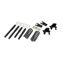 Belltech 703nd Front/rear Lowering Kit W/nitro Drop Shocks For 73-86 Chevy C10