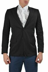 Givenchy Black Two Buttons Menand039s Blazer Sz 38 40 42