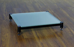 Beautiful Vti Blg404gf-01 Audio Frosted Glass Amp Stand, Brand New