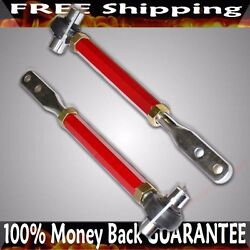 Fits Nissan 89-94 240sx S13 95-98 240sx S14 90-96 300zx Front Tension Rod Red