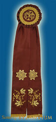 Orthodox Ecclesiastical Ribbon Badge For Church Decoration Different Colours