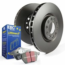 Ebc Front Oe/oem Replacement Brake Discs And Ultimax Pads Kit - Pdkf951