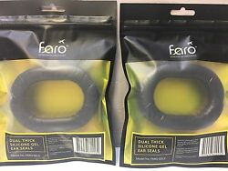 New Pair Of Faro G2 Double Thick Silicone Gel Ear Seals Cushions Pads