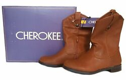 Cherokee Girls Annabelle Teenage Riding Boots - Brown Or Purple - Sizes 2413