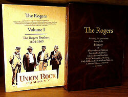 The Rogers Volume I And Ii Howard Rogers Brothers W/slipcase Limited 400 Hcdj Ln