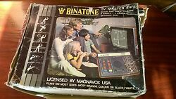 binatone tv master 4 plus 2 boxed tv pong