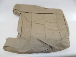 New OEM 1998-2002 Isuzu Trooper Rear Right Seat Back Cover Leather Brown