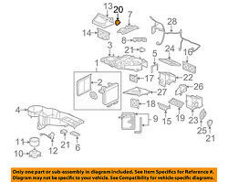 GM OEM-Heater Blend Door Actuator 89018678