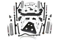 ROU- 787.22 Rough Country 4IN 07-11 Jeep JK X-Series Long Arm Lift Kit 4 Door