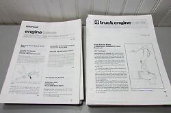 Caterpillar Truck News And Engine News Booklets From The 1980s. Huge Lot