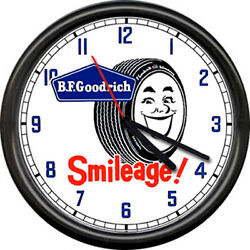Bf Goodrich Tires Service Advertising Auto Tire Store Dealer Sign Wall Clock