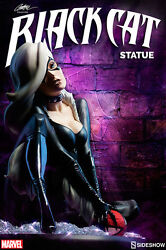 Sideshow J Scott Campbell Black Cat Exclusive Sold Out Never Displayed