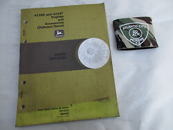 John Deere 4239d And 4239t Engines And Accessories Parts Catalog Pc-3152